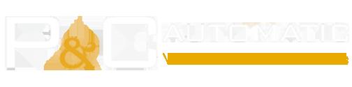 P&C Automatic - δραστηριοποιείται στον κλάδο του Αυτοματισμού, της Βιομηχανικής Ζύγισης και της Συσκευασίας.